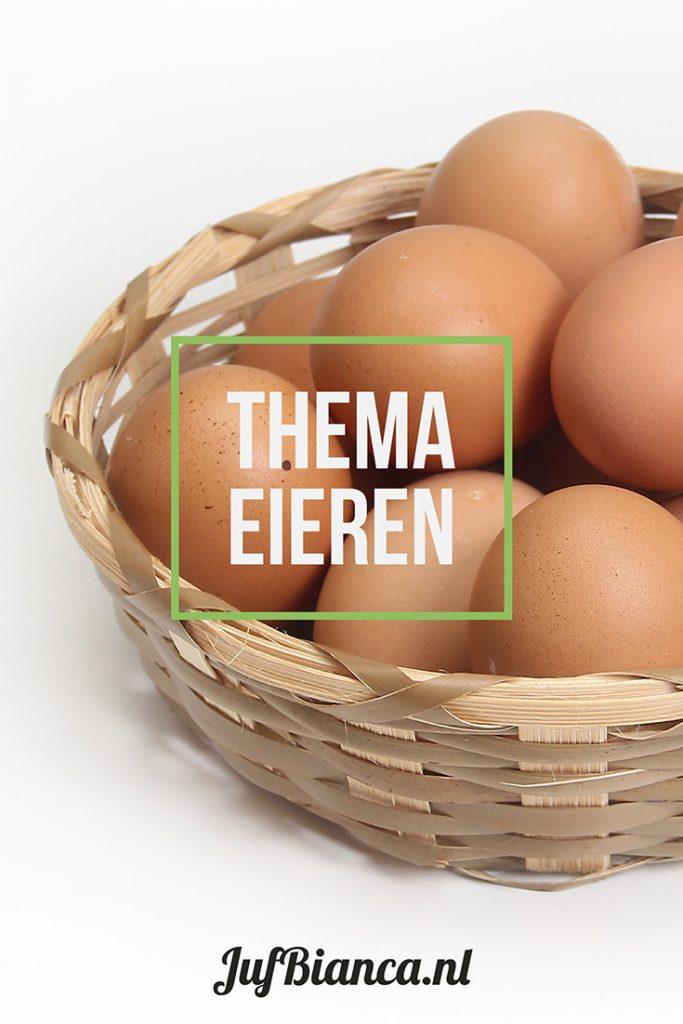 Thema eieren - Juf Bianca