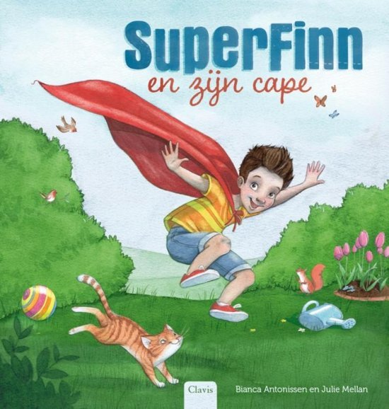 SuperFinn en zijn cape - Bianca Antonissen - superhelden