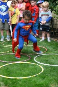 superheld parcours