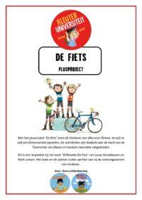 De fiets - plusproject van Juf Bianca bij Kleuteruniversiteit