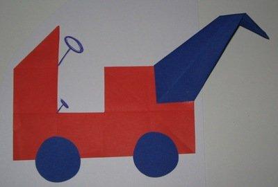 kraanwagen - thema Pluk - Lespakket