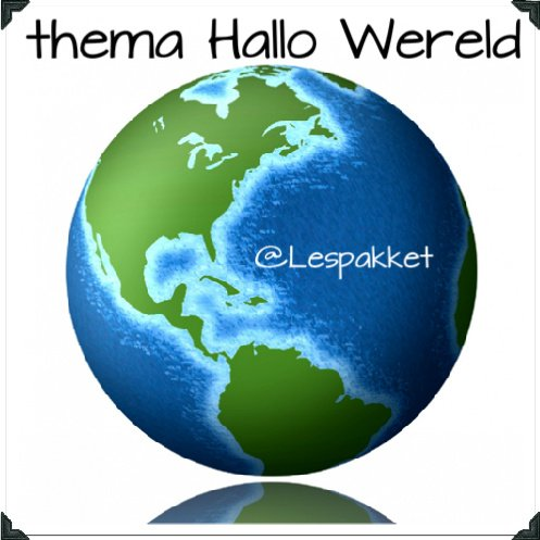 thema Hallo Wereld - Lespakket