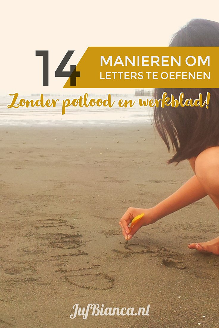 Beste 14 manieren om letters te oefenen | JufBianca.nl IC-04