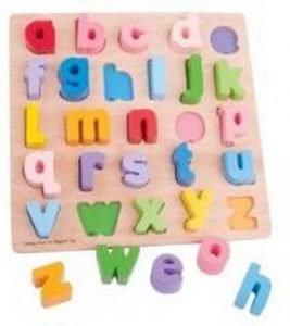 letter puzzle - Juf Bianca