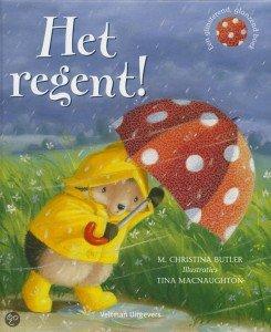 het regent - thema herfst - Lespakket