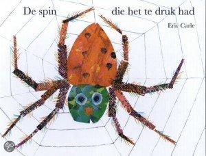 de spin die het te druk had - thema herfst - Lespakket