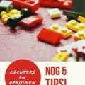 Kleuters en opruimen - Nog 5 tips - Juf Bianca