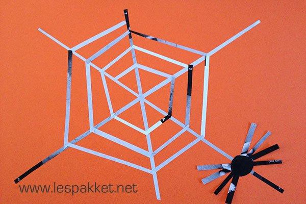 spinnenwebben knutselen - Lespakket