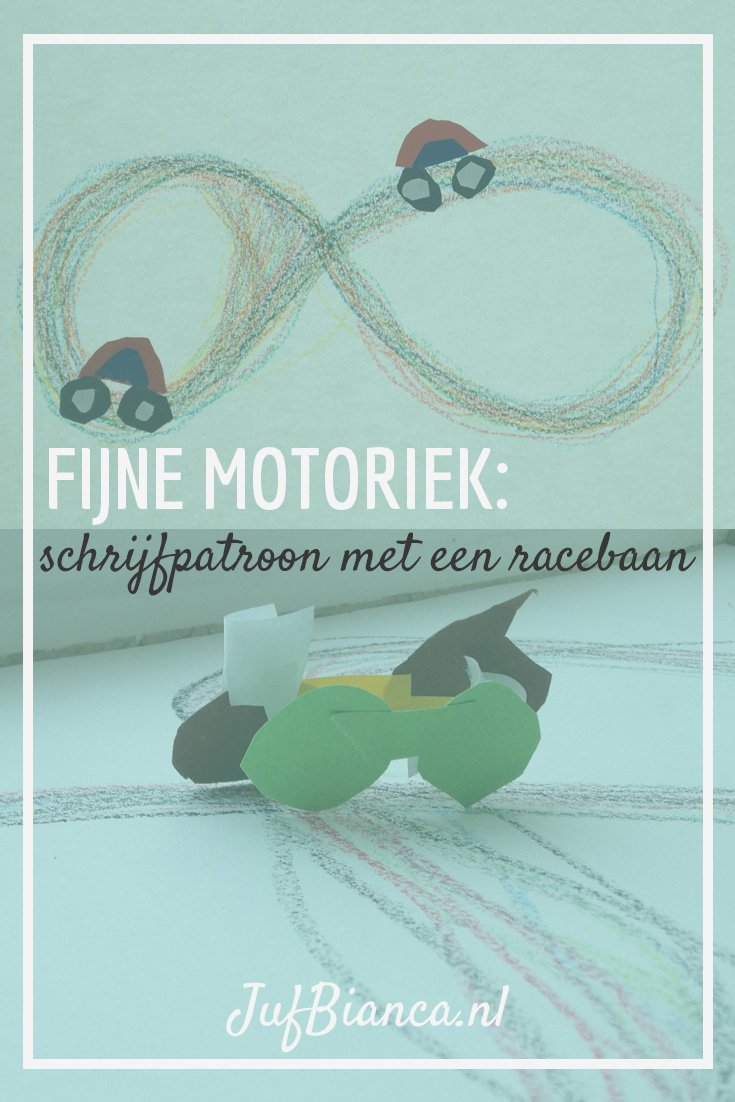 Fabulous Fijne motoriek: schrijfpatroon met een racebaan | JufBianca.nl &LA64