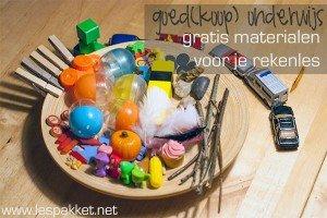 goed(koop) onderwijs - gratis materialen voor je rekenles - Lespakket