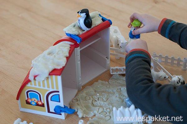zelf klei maken - 4 activiteiten met winter klei - Lespakket