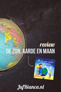 review - De zon aarde en maan - Juf Bianca