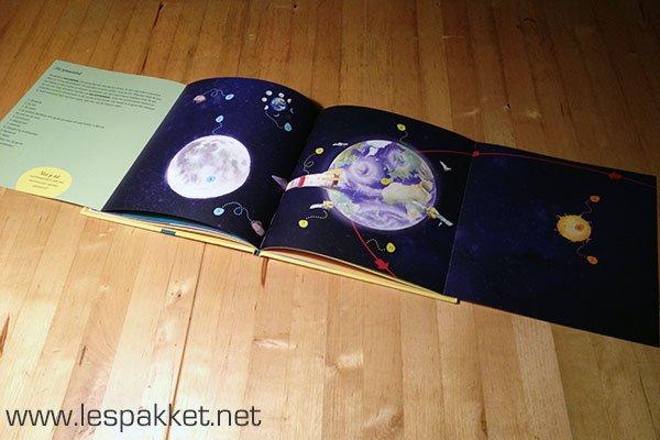 review - de zon - aarde en maan - Lespakket