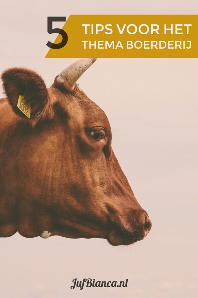 5 tips voor het thema boerderij - Juf Bianca