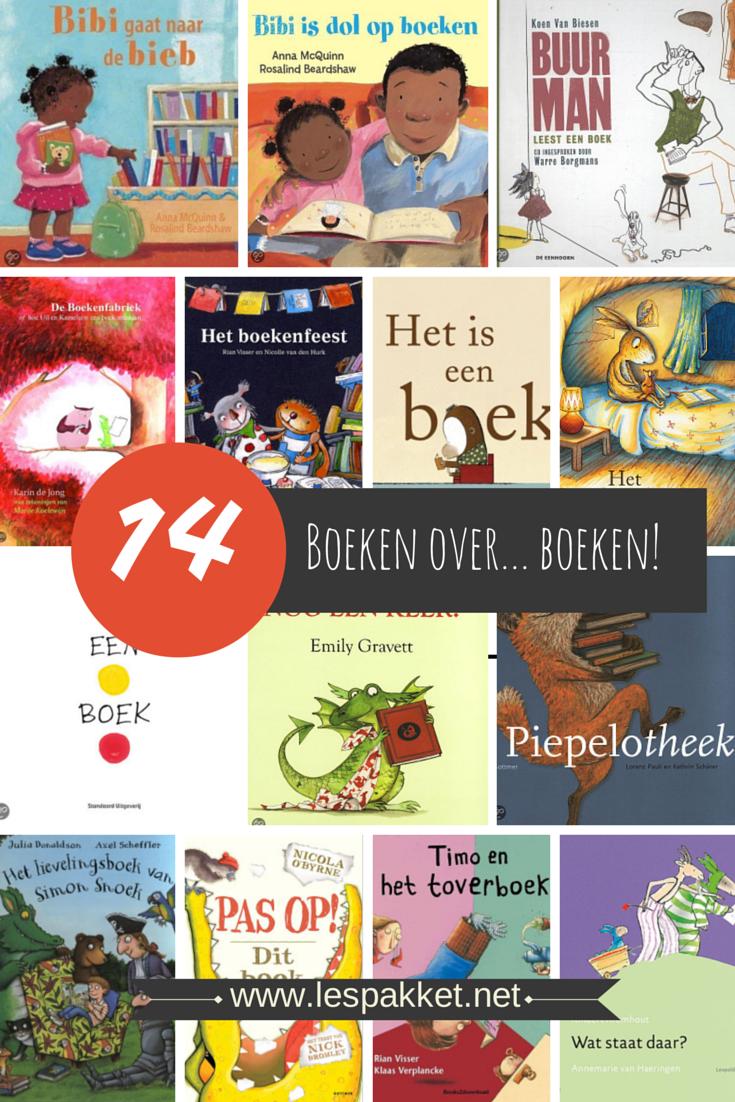 14 boeken over boeken - Lespakket