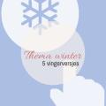 Thema winter - 5 vingerversjes - Lespakket