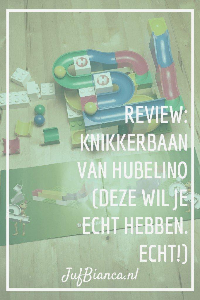 review - knikkerbaan van Hubelino - Deze wil je echt hebben, echt! - JufBianca.nl