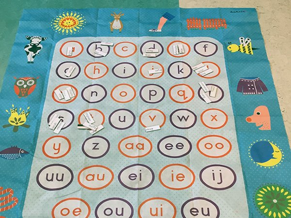 review - letterspelmat van credu - JufBianca