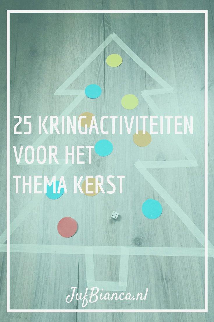 25 kringactiviteiten voor het thema kerst - Juf Bianca