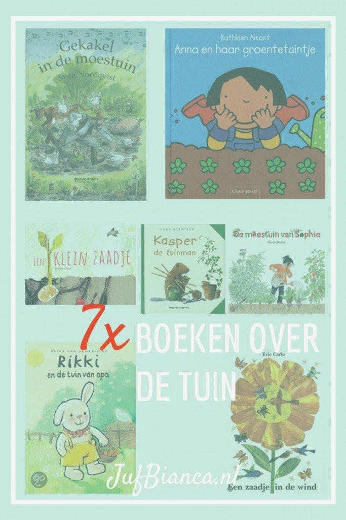 7x Boeken over de tuin - Juf Bianca