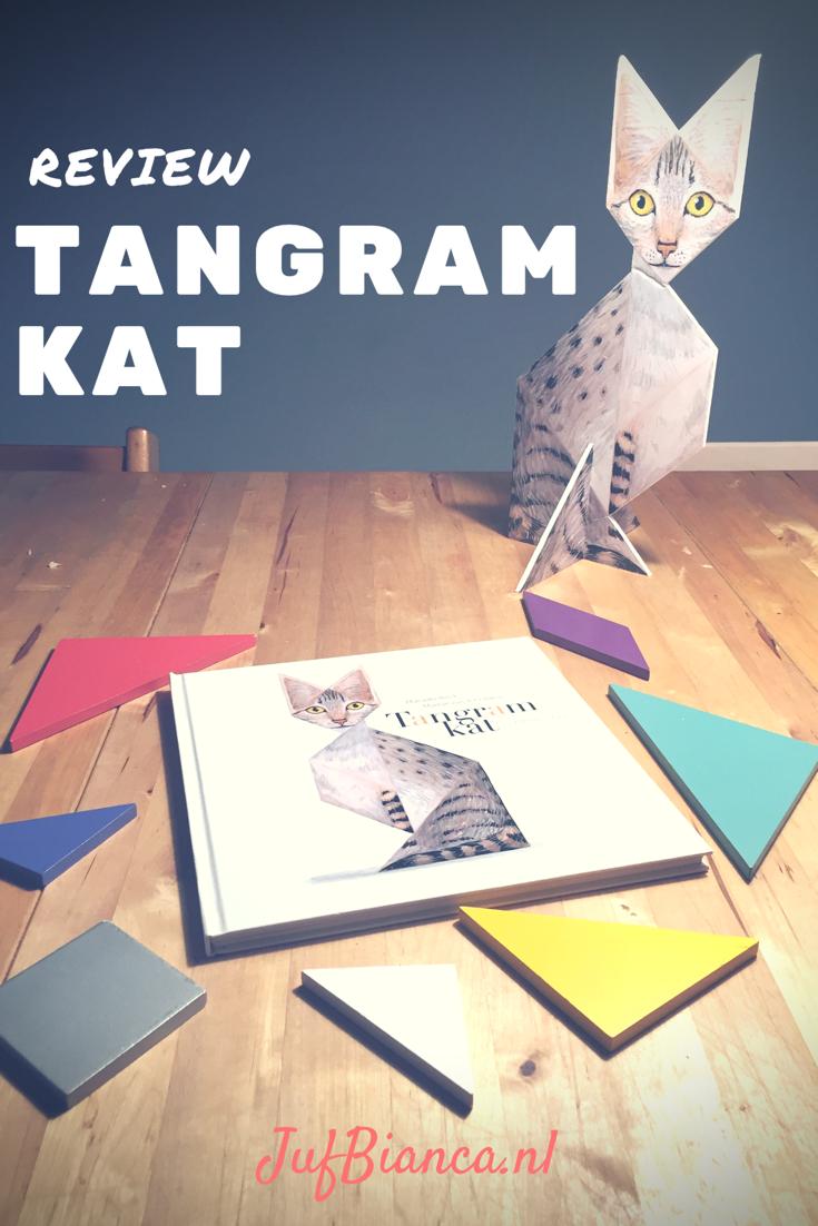 review - Tangramkat - stof de tangram maar af - Juf Bianca