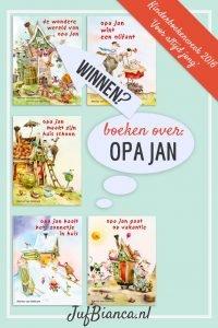 boeken over Opa Jan - Kinderboekenweek 2016 - Voor altijd jong - Juf Bianca