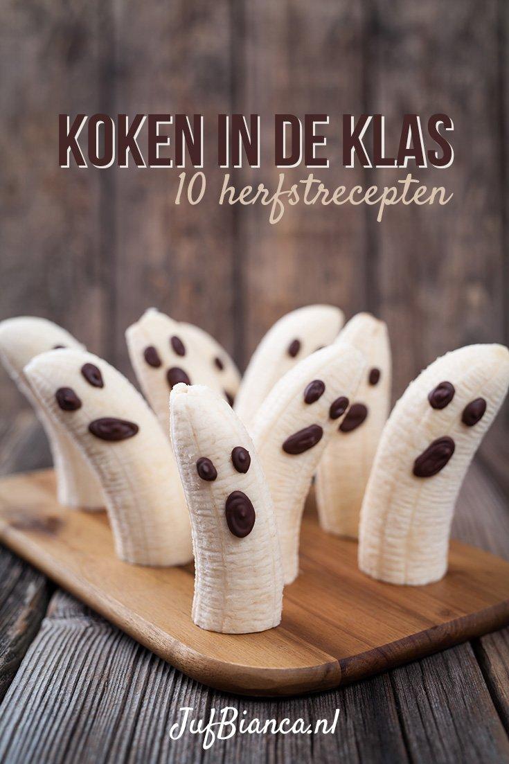 Goede Koken in de klas: 10 herfst recepten | JufBianca.nl LE-47