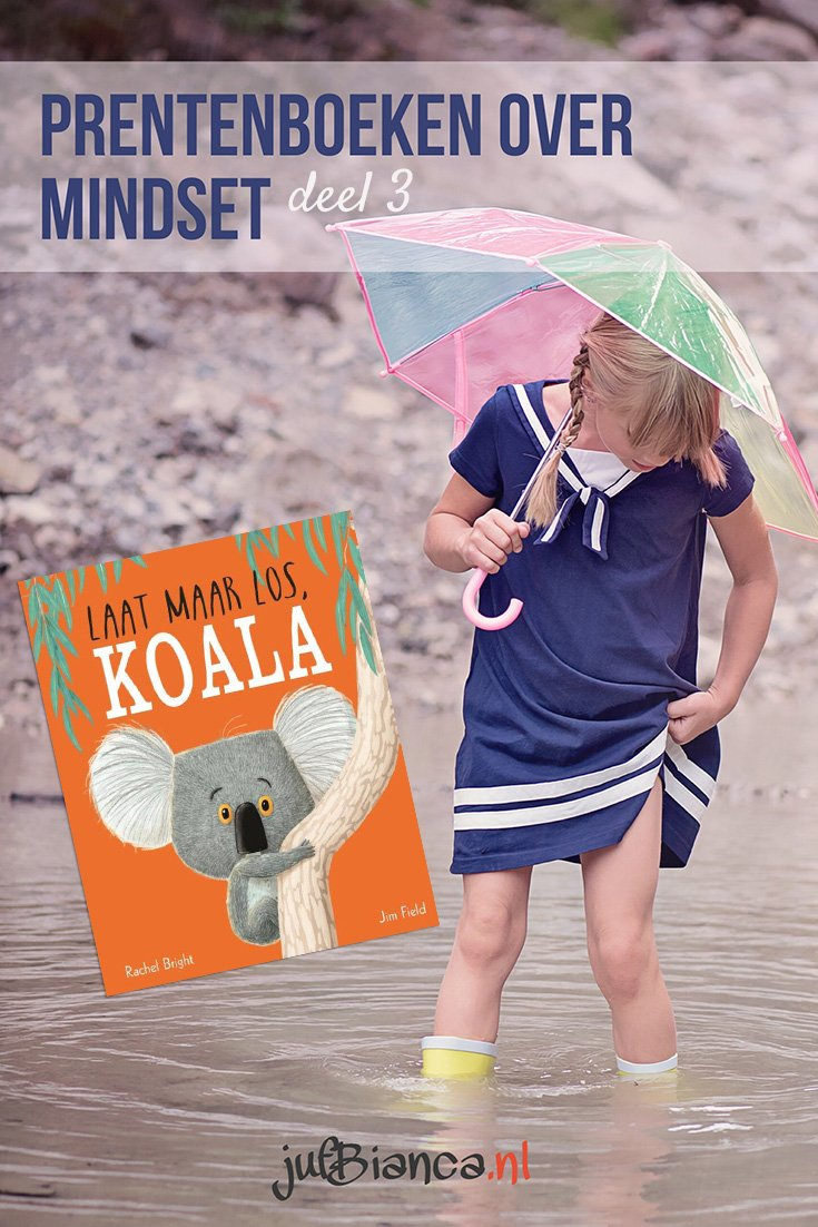 Prentenboeken over mindset - deel 3 - Laat maar los Koala