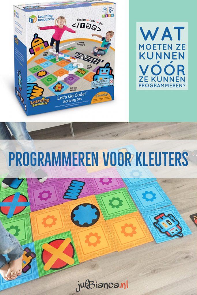 Programmeren met kleuters - Juf Bianca