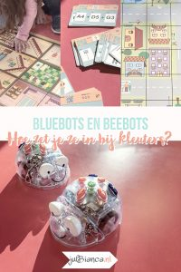 Beebots en Bluebots bij kleuters - Juf Bianca