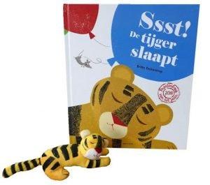 Ssst de tijger slaapt - prentenboek plus vingerpopje - Juf Bianca