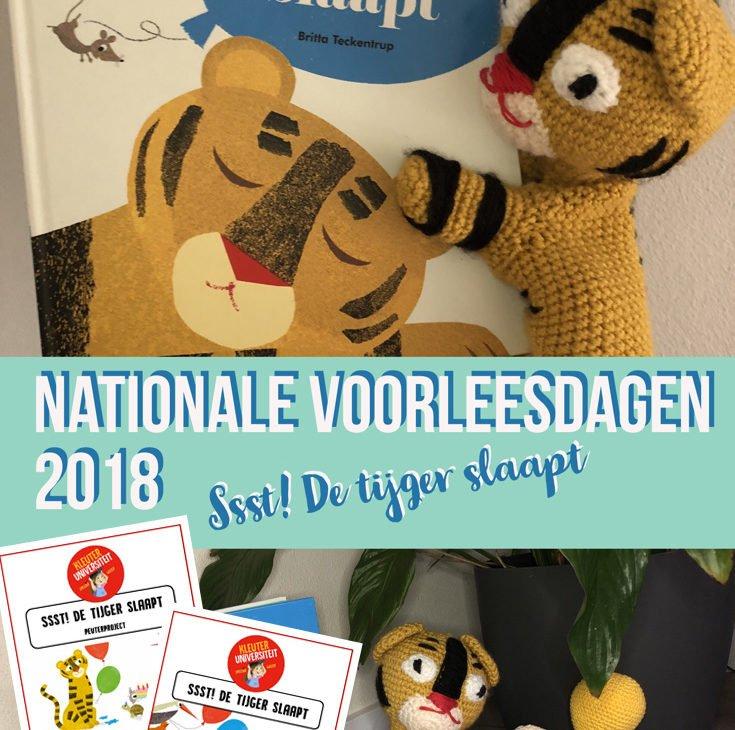 Nationale Voorleesdagen 2018 - Ssst de tijger slaapt - Juf Bianca