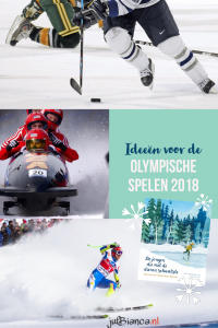 Ideeën voor kleuters voor de Olympische Spelen 2018 - Juf Bianca