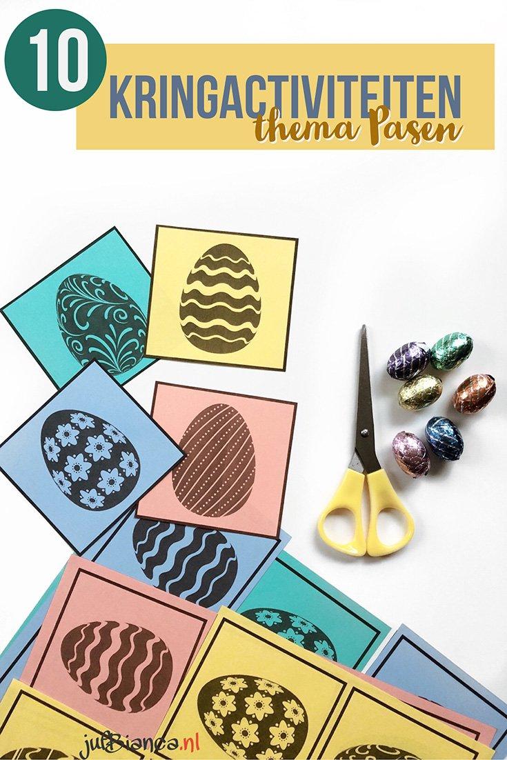 10 Kringactiviteiten in het thema Pasen - Juf Bianca