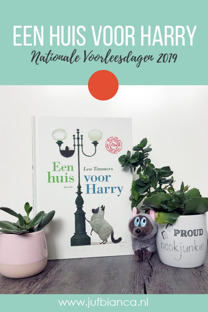 Een huis voor Harry - Nationale Voorleesdagen 2019 - Juf Bianca
