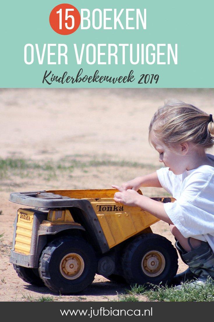 15 boeken over voertuigen - Kinderboekenweek 2019 - Juf Bianca