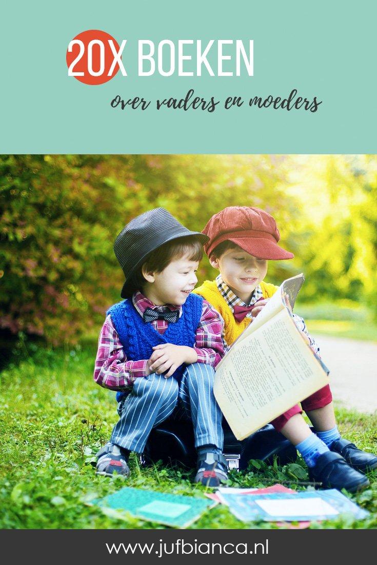 20x boeken over vaders en moeders