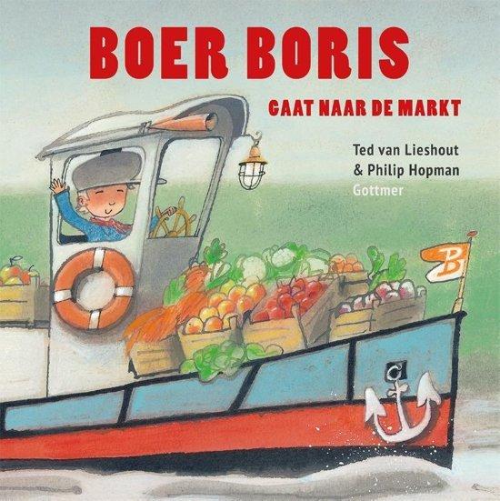 Boer Boris gaat naar de markt - Boeken over voertuigen - Juf Bianca
