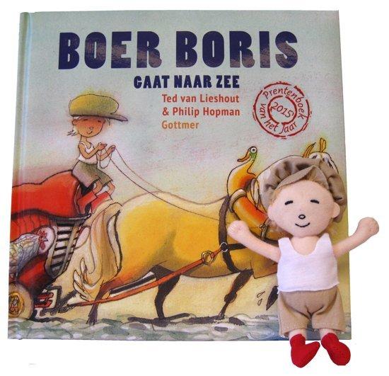 Boer Boris gaat naar zee - boeken over reizen - Juf Bianca