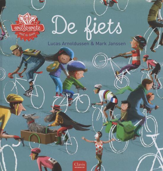 De fiets - Boeken over voertuigen - Juf Bianca