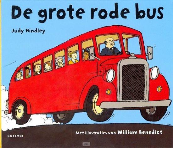 De grote rode bus - Boeken over voertuigen - Juf Bianca