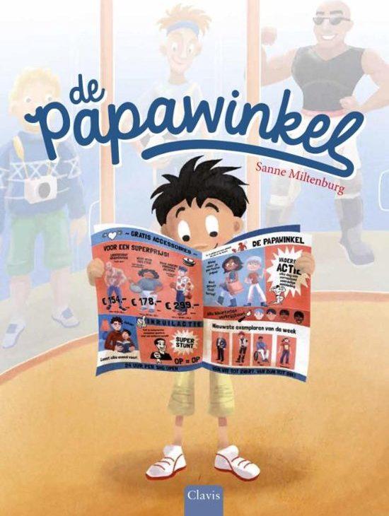 De papawinkel - Boeken over vaders en moeders - Juf Bianca