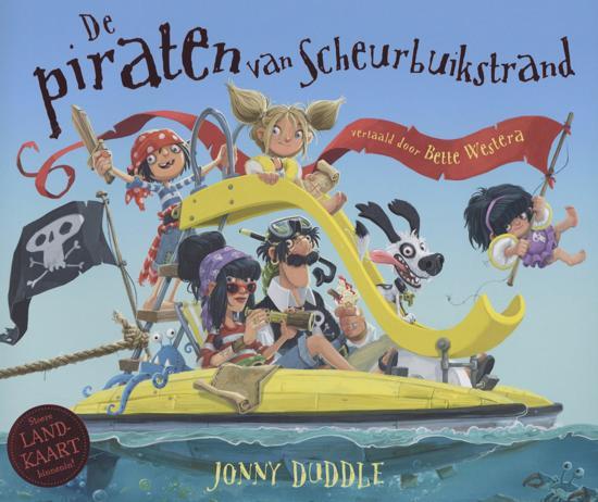 De piraten van Scheurbuikstrand - boeken over reizen - Juf Bianca