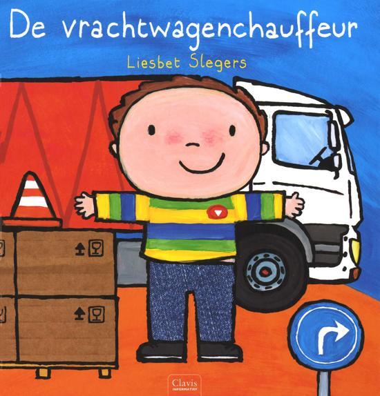 De vrachtwagenchauffeur - Boeken over voertuigen - Juf Bianca