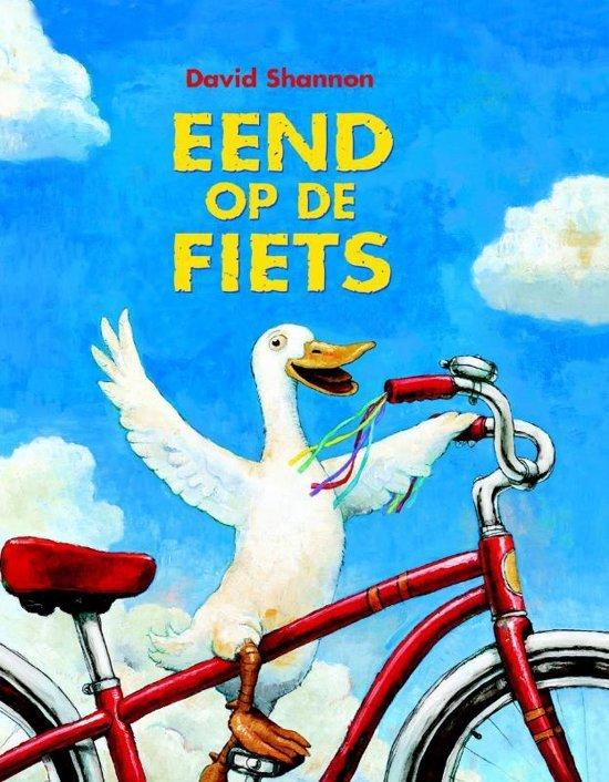 Eend op de fiets - Boeken over voertuigen - Juf Bianca