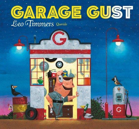 Garage Gust - Boeken over voertuigen - Juf Bianca