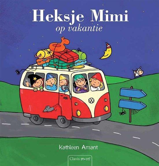 Heksje Mimi op vakantie - boeken over reizen - Juf Bianca