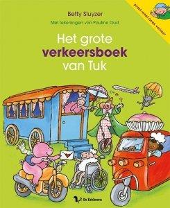 Het grote verkeersboek van Tuk - Boeken over voertuigen - Juf Bianca