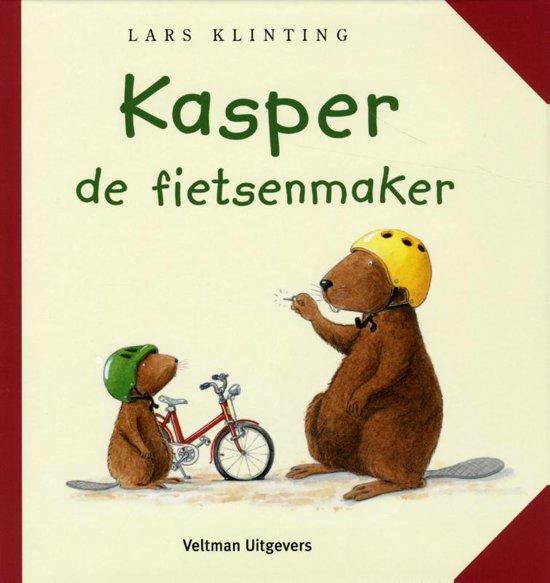 Kasper de fietsenmaker - Boeken over voertuigen - Juf Bianca