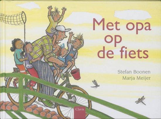 Met opa op de fiets - Boeken over voertuigen - Juf Bianca